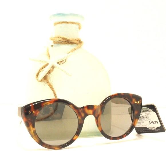 d4fe4a8b69  Foster Grant Cat Eye Sunglasses Mirror Lens Brown